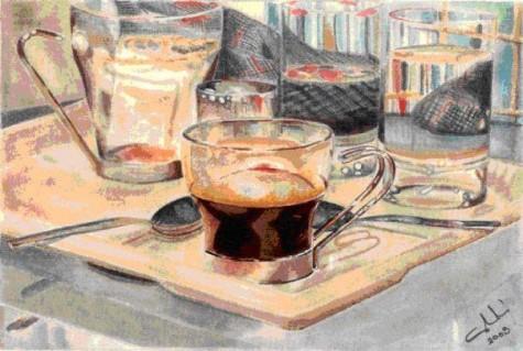 Café a Pompidou