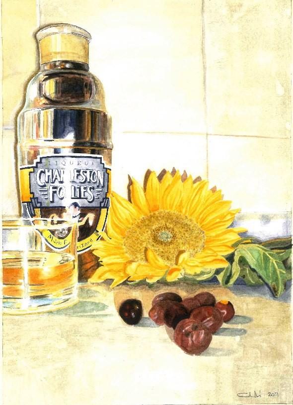 Sunflower 2011 29 x 20,7 (acquerello su carta)